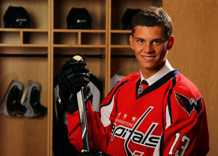 The Washington Capitals have re-assigned center Andre Burakovsky to the  Hershey Bears of the American Hockey League (AHL) d70a39fb391