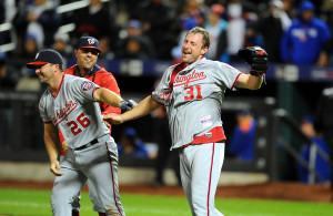 10/03/15 Washington Nationals  vs  N.Y. Mets  at Ciitifield  Queens N.Y     Washington Nationals    win  2-0  on a  no hitter  by  Washington Nationals starting pitcher Max Scherzer #31  photos  by  sportsdaywire