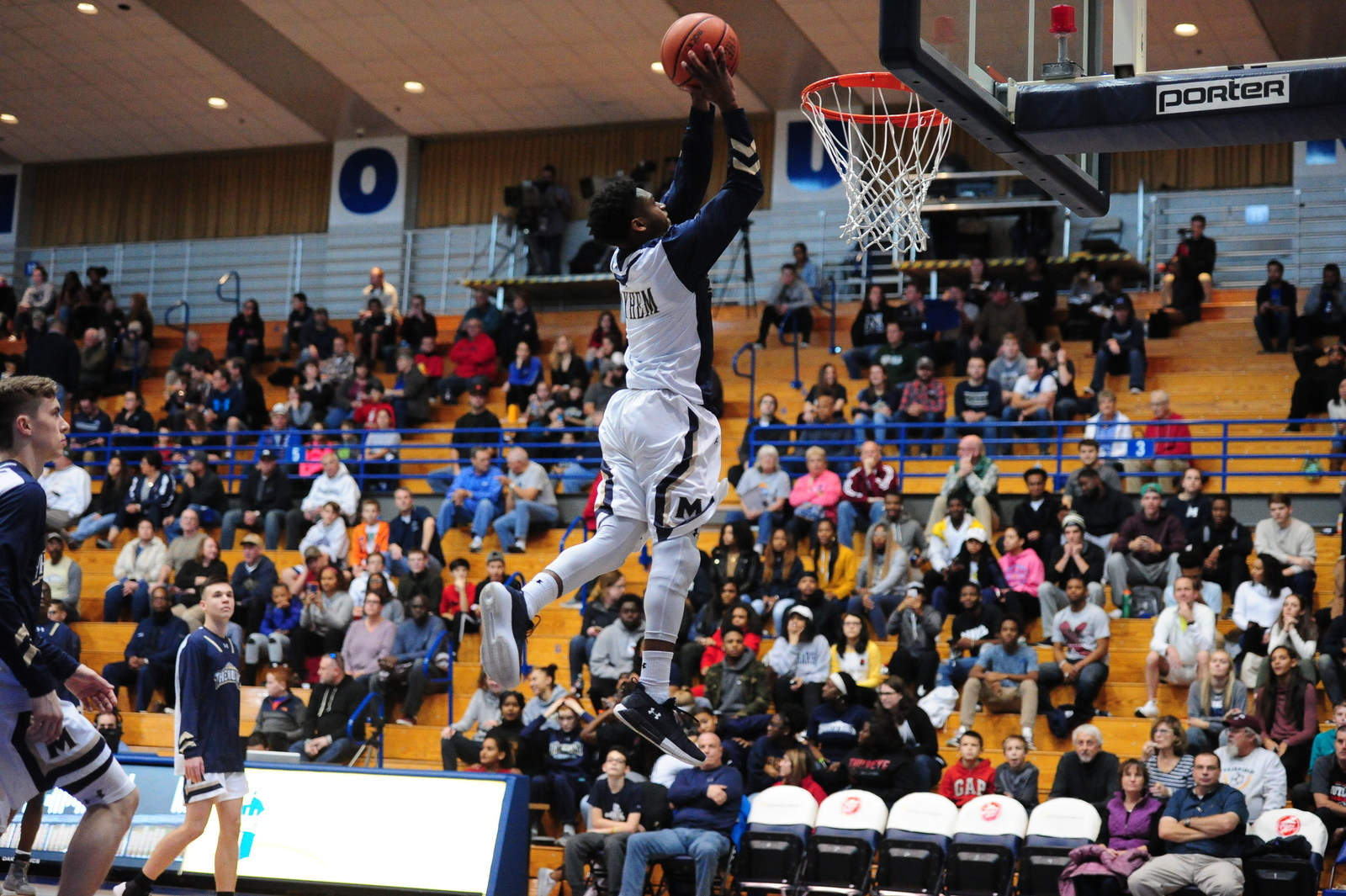 Mount St. Mary's senior guard Junior Robinson (PRNewsfoto/Mount St. Mary's University)