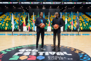 GOA 5 - His Excellency President Paul Kagame of the Republic of Rwanda joins Masai Ujiri, president of the Toronto Raptors and co-founder of Giants of Africa to announce the GOA Festival 2020