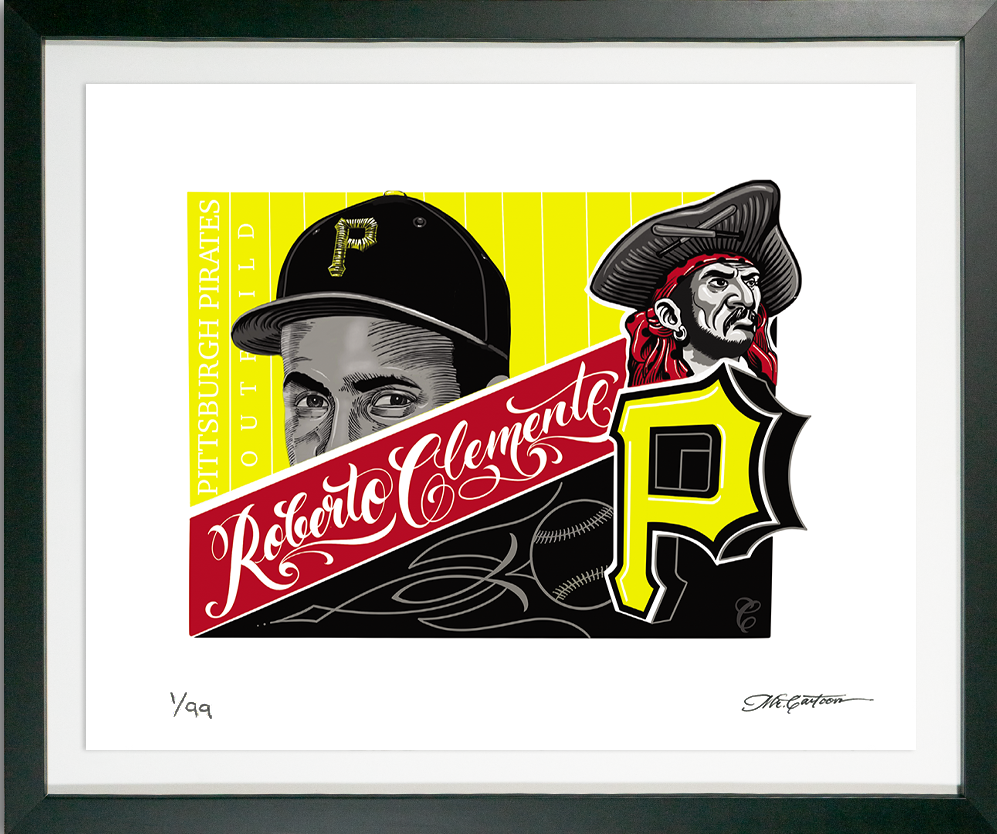 Roberto Clemente by Mister Cartoon